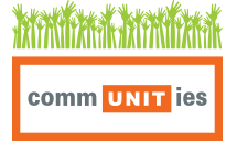 Unit Realty Group's commUNITies Program logo